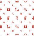 charger icons pattern seamless white background vector image vector image