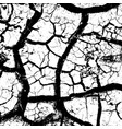 cracked overlay texture vector image vector image