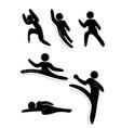 gesture pack vector image