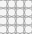 Perforated four foils forming squares vector image vector image