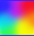 rainbow color gradient mesh background trendy vector image