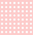 tile pattern with pink print on white background vector image