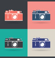 creative design object icon set vector image