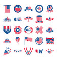4th july independence day celebration honor vector image vector image
