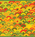 decorative scales squama background vector image