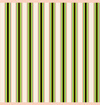 green and black stripes on ivory background vector image