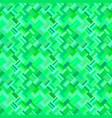 green seamless abstract diagonal rectangle vector image vector image