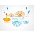 indian diwali festival vector image vector image