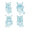 owl graphics vector image vector image
