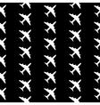 Plane symbol seamless pattern vector image vector image