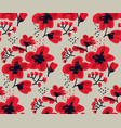 blossom seamless pattern for surface design vector image vector image