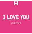 I love you4 vector image vector image