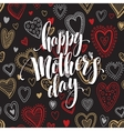 Mothers day hand letteringgreeting card vector image vector image