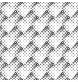 seamless black and white abstract diagonal square vector image vector image