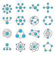 simple set of network icons vector image vector image
