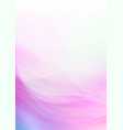 curved abstract soft colors background vector image vector image