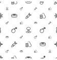 explode icons pattern seamless white background vector image vector image