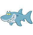 Happy Shark vector image