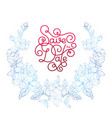 holiday gift card with hand lettering save the vector image vector image