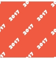 New Year seamless texture vector image vector image