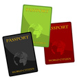 passports vector image vector image