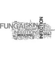 when fungi takes the fun away text word cloud vector image vector image