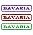 bavaria watermark stamp vector image