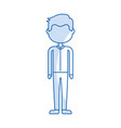 isolated handsome icon vector image vector image