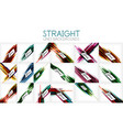 Mega collection of straight line abstract
