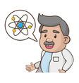 scientific laboratory science vector image vector image