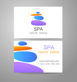spa natural beauty vector image