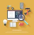 Programming concept vector image