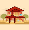 modern home interior vector image