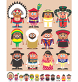 nationalities part 3 vector image