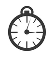 orbed clock time concept graphic vector image