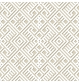 Seamless geometric pattern background in paper vector image vector image