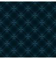seamless vintage pattern blue vector image