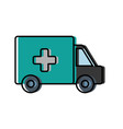 ambulance icon imag vector image vector image