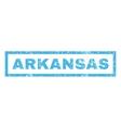 Arkansas Rubber Stamp vector image