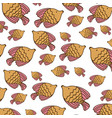 browns fishes background icon vector image