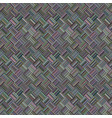 colorful repeating diagonal striped square mosaic vector image vector image