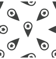 House pointer pattern vector image vector image