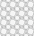 Perforated four foils forming twisted squares vector image vector image