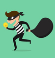 Piracy Thief stealing idea vector image vector image