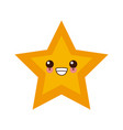 Star shape symbol cute kawaii cartoon