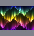digital aurora abstract background vector image vector image