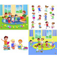 for celebration children day fun child vector image