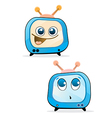 funny tv vector image vector image