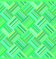 green abstract repeating diagonal striped tile vector image vector image