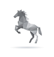 Horse abstract isolated on a white backgrounds vector image vector image